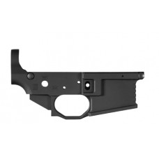 Black Rain BROMLRBLK BRO Milled Lower AR-15 223 Remington/5.56 NATO Black Hardcoat Anodized