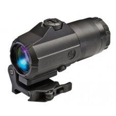 "Sig Sauer Electro-Optics SOJ41001 Juliet4 Magnifer 4x 24mm Obj 2.5"" Eye Relief  Black"