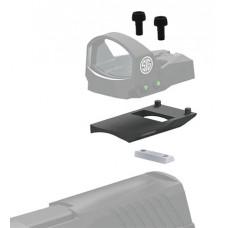 Sig Sauer Electro-Optics  Romeo1 Mounting Kit For Glock 1-Piece Style Black Finish
