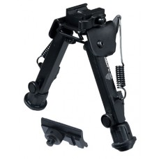 UTG TL-BP98Q Super Duty Bipod with QD Lever Mount Black Metal 6-8.5""