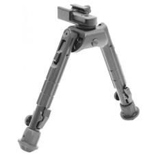"UTG TL-BP01 Heavy Duty Recon Bipod Gray Metal 6.6-9.12"""