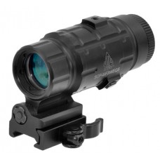 "UTG SCP-MF3WEQS Magnifier 3x 25mm Obj 2"" Eye Relief  Black"