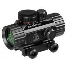 UTG SCP-RD40RGW CQB Dot Sight 1x 30mm Obj Unlimited Eye Relief 4 MOA Black