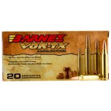 Barnes Bullets 31190 VOR-TX 223 Remington/5.56 NATO 62 GR TSX Boat Tail 20 Bx/ 10 Cs