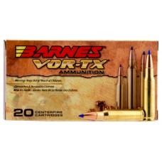 Barnes Bullets 30739 VOR-TX 300 Win Mag 190 GR LRX Boat Tail 20 Bx/ 10 Cs