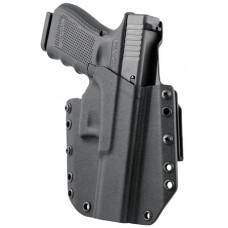 Mission First Tactical HGL19OWBBL MFT OWB  Glock 19/23 Kydex Black