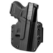 Mission First Tactical HGL26OWBBL MFT OWB  Glock 26/27 Kydex Black