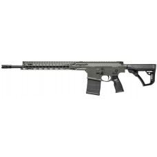 "Daniel Defense 02048047 DD5 V2 Semi-Automatic 308 Winchester/7.62 NATO 18"" 20+1 6-Position Black Stk Green Cerakote"