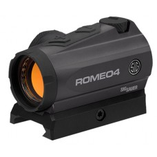 Sig Sauer Electro-Optics SOR41001 Romeo4A 1x 20mm Obj Unlimited Eye Relief 2 MOA Graphite High Mounting Port