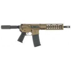 "Diamondback DB15PBB10 DB15 Pistol AR Pistol Semi-Automatic 223 Remington/5.56 NATO 10.5"" 30+1  Burnt Bronze"