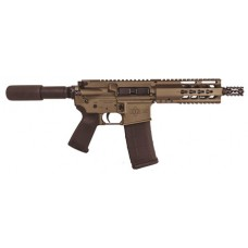 "Diamondback DB15PBB7 DB15 Pistol AR Pistol Semi-Automatic 223 Remington/5.56 NATO 7.5"" 30+1  Burnt Bronze"