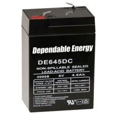 American Hunter DE30052 HR Rechargeable Battery 6V Battery