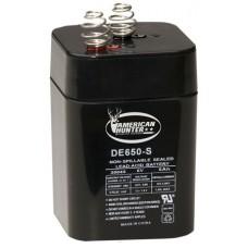 American Hunter DE30053 HR Rechargeable Battery 6VOLT REC BAT SPRG TOP