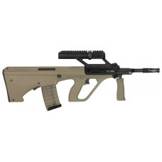 "Steyr AUGM1MUD03 AUG A3 M1 Semi-Automatic 223 Remington/5.56 NATO 16"" 30+1 3X Optic Synthetic Tan Stk Black"