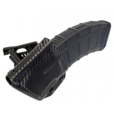 UM Tactical AKMAG AK Mag Holder with Attachments Black Carbon Fiber