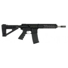 "Bushmaster 90035 Square Drop Pistol Semi-Auto 223 Remington/5.56 NATO 10"" 30+1 Polymer Black Hard Coat Anodized"