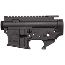 Aero Precision APCS100002 AR-15 Stripped Receiver Set Multi-Caliber AR Platform Black Hardcoat Anodized
