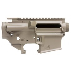 Aero Precision APCS100008 AR-15 Stripped Receiver Set AR-15 Platform Multi-Caliber Flat Dark Earth Cerakote