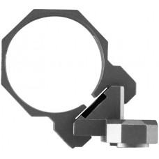 Aim Sports AKMC04 Offset 1-Pc Base & Ring Combo For Keymod 1-Piece Style Black Hard Coat Anodized Finish 30mm