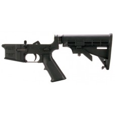 DPMS LR05AP4 Assembled Lower AP4 Stock AR-15 Platform 223 Remington/5.56 NATO Black Hardcoat Anodized