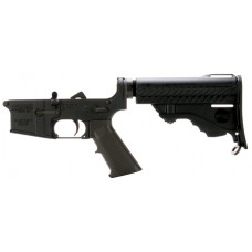 DPMS LR05PS Assemble Lower Pardus Stock AR-15 Platform 223 Remington/5.56 NATO Black Hardcoat Anodized