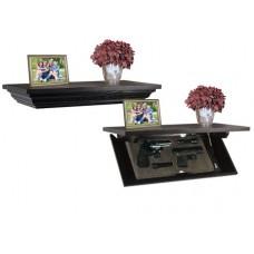"""PSP  Concealment Shelf Magnetic Key 24"""" L Wood Brown"""