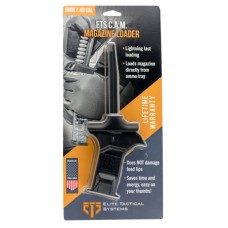 ETS Group ETSCAM940 C.A.M Mag Loader 9mm/40 Smith & Wesson (S&W)   Polymer Black Finish