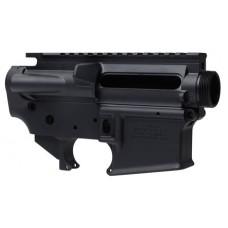 Lantac LA00302 SF15 Upper/Lower Set AR Platform Multi-Caliber Black Hardcoat Anodized