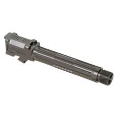 "Lantac 01GBG19THSS 9INE Glock 19 9mm Gauge 4.01"" Stainless Steel Fluted/Threaded"