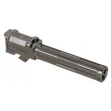 """Lantac 01GBG19NTHSS 9INE Glock 19 9mm Gauge 4.01"""" Stainless Steel Fluted"""