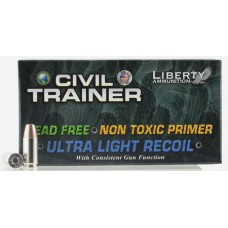 Liberty Ammunition LATR9048 Civil Trainer 9mm Luger 65 GR  50 Bx/ 10 Cs