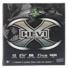 "Hevishot 50278 Hevi-X Waterfowl 12 Gauge 2.75"" 1-1/16 oz BB Shot 25 Bx/ 10 Cs"