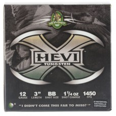 "Hevishot 50308 Hevi-X Waterfowl 12 Gauge 3"" 1-1/4 oz BB Shot 25 Bx/ 10 Cs"