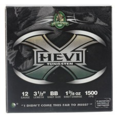 "Hevishot 50358 Hevi-X Waterfowl 12 Gauge 3.5"" 1-3/8 oz BB Shot 25 Bx/ 10 Cs"