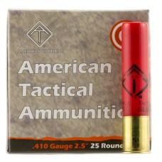 "ATI AYAV410T Target 410 Gauge 2.5"" Buckshot 9 Pellets T Shot 25 Bx/ 20 Cs"