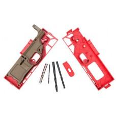 Polymer80 P80308KITFDE 308 Warrhogg AR-15 308 Winchester/7.62 NATO Polymer Flat Dark Earth