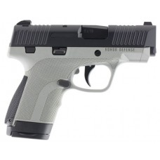 """Honor Defense HG9SCGRA Honor Guard Sub-Compact Double 9mm Luger 3.2"""" 7+1/8+1 Battleship Gray Interchangeable Backstrap Grip Black Stainless Steel"""