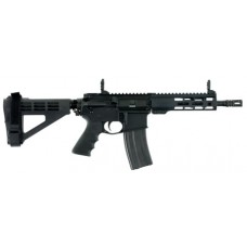 """Windham Weaponry RP9SFS7300M RP9 AR Pistol Semi-Automatic 300 AAC Blackout/Whisper (7.62x35mm) 9"""" 30+1 Polymer Black Hard Coat Anodized"""