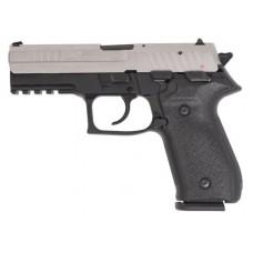 "Arex REXZERO1S-08 Rex Zero Standard Single/Double 9mm Luger 4.25"" 17+1 Black Polymer Grip/Frame Grip Nickel"