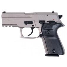 "Arex REXZERO1CP06 Rex Zero Compact Single/Double 9mm Luger 3.85"" 15+1 Black Polymer Grip Nickel"