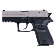 "Arex REXZERO1CP08 Rex Zero Compact Single/Double 9mm Luger 3.85"" 15+1 Black Synthetic Grip Nickel"