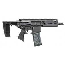 "Sig Sauer PMCX300BTAPP MCX Rattler AR Pistol Semi-Automatic 300 AAC Blackout/Whisper (7.62x35mm) 5.5"" 30+1 Polymer Black"