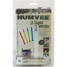 Humvee Accessories HMV6FP12 12 Piece Light Stick Family Pack White/Blue/Red/Green/Orange