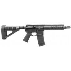 "Bushmaster 90907 Square Drop Pistol AR Pistol Semi-Automatic 300 AAC Blackout/Whisper (7.62x35mm) 9.5"" 30+1 Polymer Black"