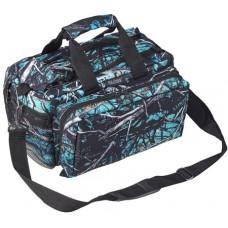 "Bulldog  BD910SRN Deluxe Range Bag with Strap Tactical Nylon 13"" x 7"" x 7"" Serenity Camo"
