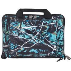 """Bulldog BD915SRN Mini Range Pistol Bag Nylon 11"""" x 7"""" x 2"""" Serenity Camo"""