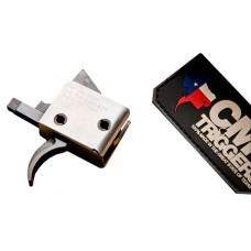 CMC Triggers 92501 Single Trigger Pull Curved AR-15