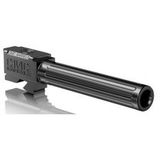 """CMC Triggers 75517 Match Precision Fluted Barrel compatible with Glock 34 Gen 3&4 9mm 5.31"""" 416R Stainless Steel Black"""