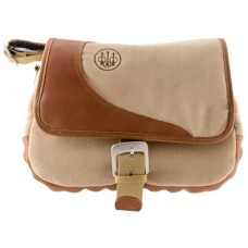 Beretta USA BIONE B1 Cartridge Bag Tan Canvas/Leather