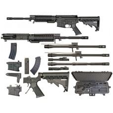 Windham Weaponry RMCS4 Multi-Caliber Rifle Semi-Automatic 223 Remington/300 AAC Blackout/7.62x39mm/9mm N/A Black